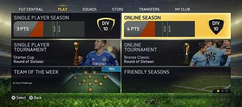 reset online seasons fifa 15 fifa 15 ultimate team seasons divisions rewards