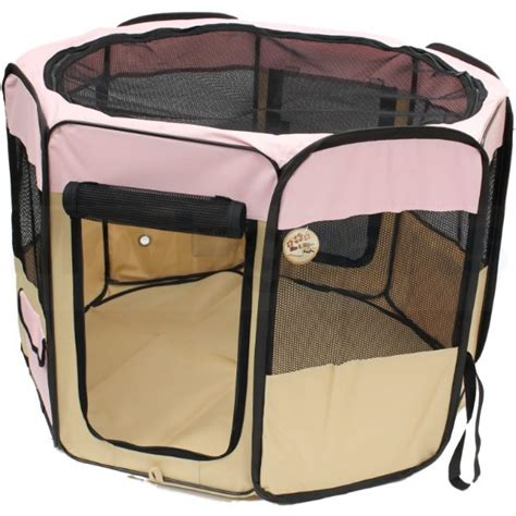 small puppy playpen me my pet small folding pink play pen puppy cat kitten rabbit playpen run ebay