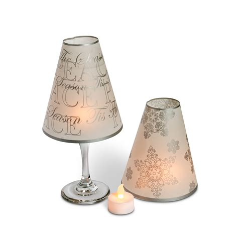 Wine Glass L Shades Ebay by 5 Quot Wine Glass L Shades Tea Lights Home Wedding Decor