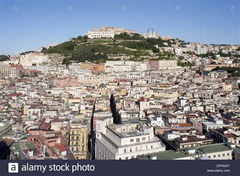 napoli vomero view of naples town with the vomero hill and certosa of