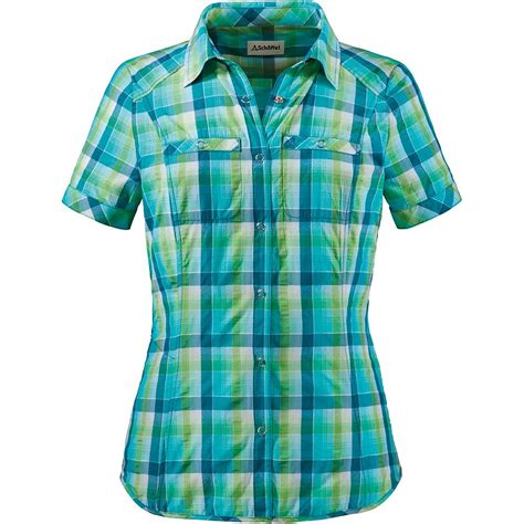 Blouse Los Angeles sch 246 ffel los angeles bluse damen blue green kaufen im