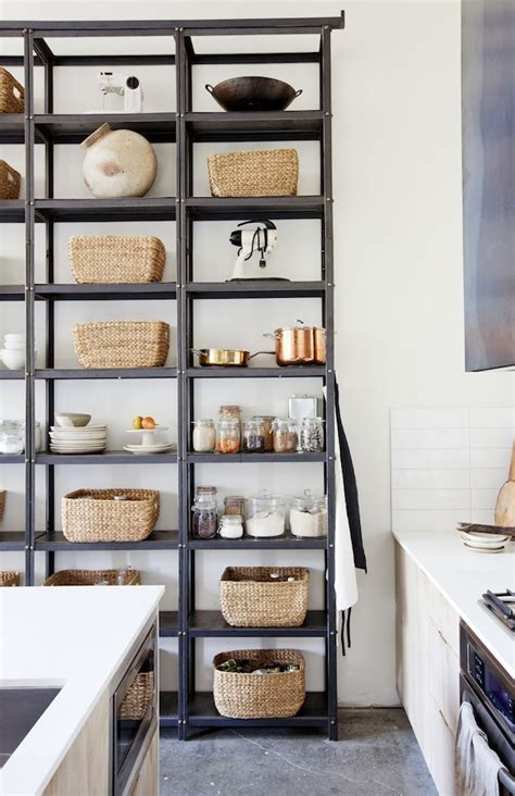 Modern Pantry by Home Tour A Foodie S Home In Vancouver Damask