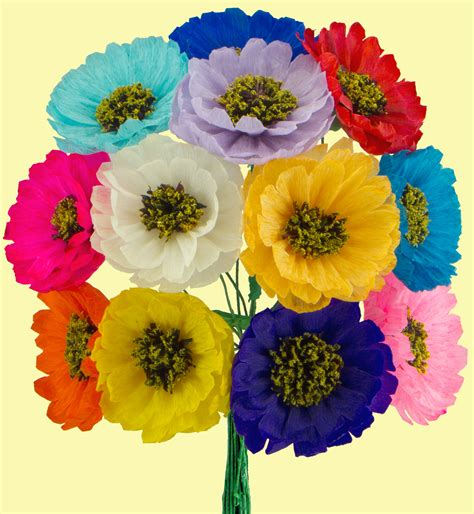 How To Make A Mexican Flower Out Of Tissue Paper - image gallery mexican flowers