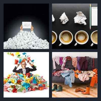 wordbrain themes clothes level 4 4 pics 1 word answer crumpled 4 pics 1 word game answers