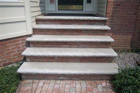 carnoustie lane brick front steps complete makeover