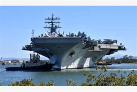 portaerei usa portaerei usa verso la penisola coreana tiscali notizie