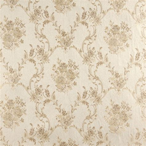 large floral upholstery fabric ivory large scale floral brocade upholstery fabric by the yard
