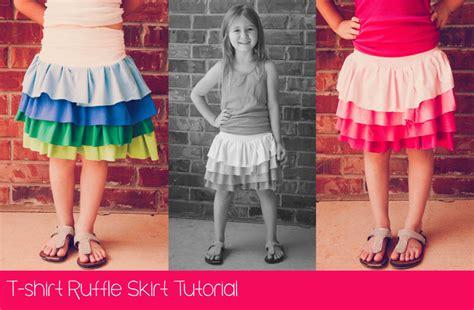 t shirt ruffle skirt pattern t shirt ruffle skirt tutorial peek a boo pages