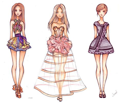 design fashion sketches online fashion sketch collection by nina d lux on deviantart