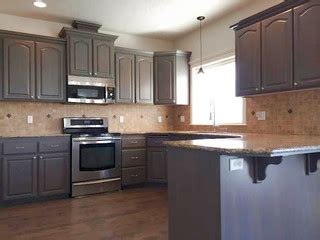 Revive Kitchen Cabinets Gray Stained Kitchen Cabinets Traditional Kitchen Boise By Revive Cabinetry