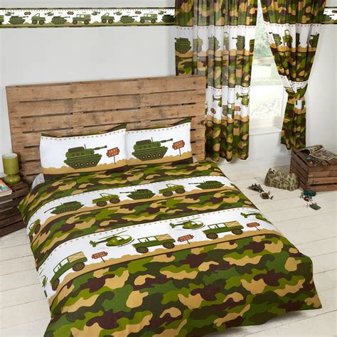boys bedding saveemail 3d transformer printed blankets army camp camouflage tanks duvet covers matching curtains
