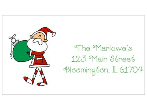 santa claus phone number email address find out here santa claus holding ornament christmas address labels