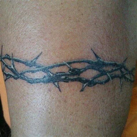 tribal crown of thorns tattoo best 25 ideas on