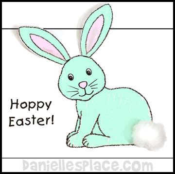 easter bunny cards template easter crafts for