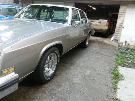 1983 Buick Lesabre Limited Buy Used 1983 Buick Lesabre Limited Rod Performance