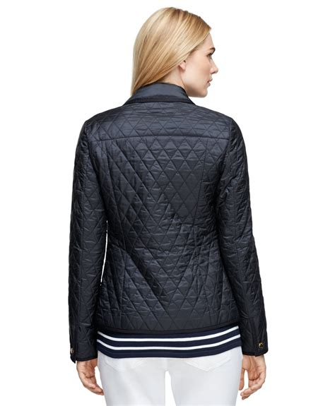 Brothers Quilted Jacket by Brothers Quilted Jacket In Blue Lyst