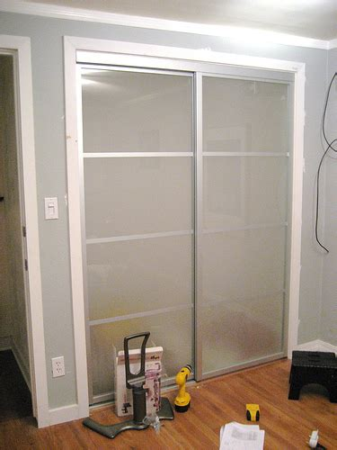 How To Replace Closet Doors by Replace Sliding Mirror Closet Doors Home Improvement