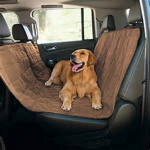 Seat Cover For Dogs In Car Pawslife 174 Quilted Pet Hammock Car Seat Cover Bed Bath