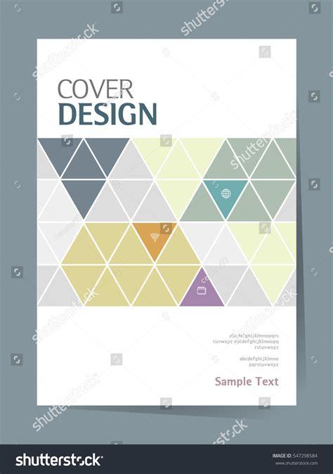 book cover layout design vector book cover design vector template a4 stock vector