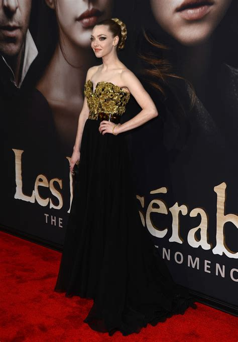 amanda seyfried kavanaugh amanda seyfried in quot les miserables quot new york premiere zimbio