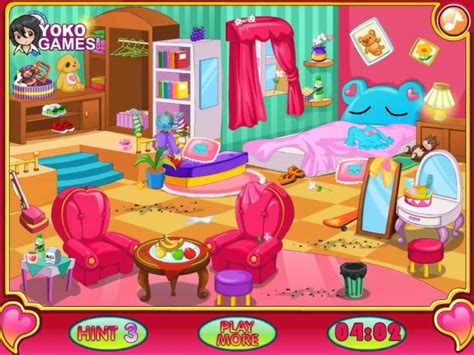 my bedroom game clean my room video for kids cleaning game girls games