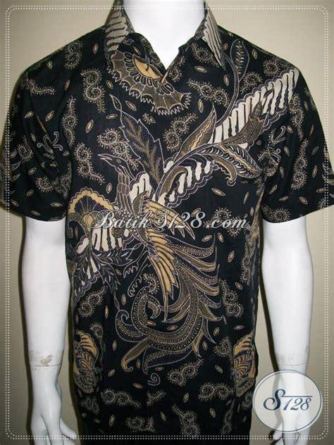 Dress Batik Handmade Kode T 881683 kemeja batik parang burung warna hitam elegan dan eksklusif ld287t m toko batik 2018