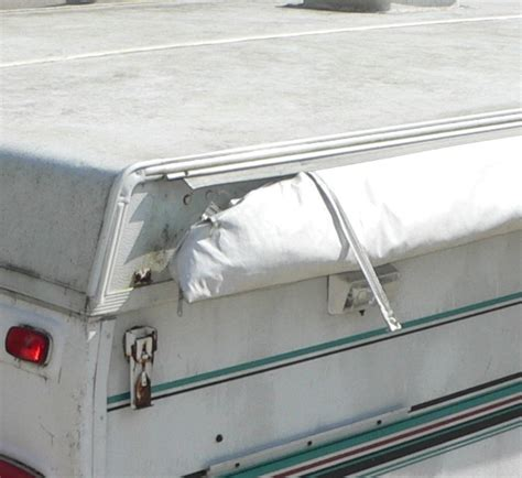 rv bag awning rv net open roads forum folding trailers locking