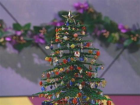 diy beaded christmas tree diy