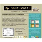 Find A Free Microsoft Word Certificate Template Southworth Templates