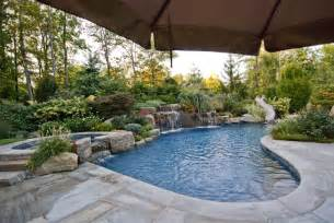 pool landscape ideas fetching custom swimming pools and