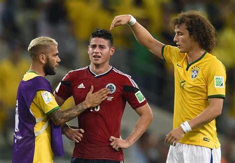 imagenes de james llorando en el mundial en video as 237 trataron a james los jugadores brasile 241 os