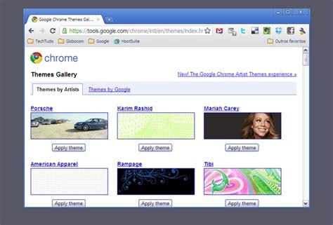 google themes original como criar tema para chrome usando o seu wallpaper dicas