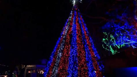 tree light show silver dollar city tree light show