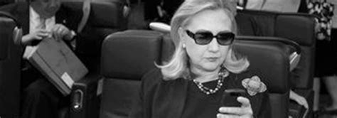 Hillary Clinton Sunglasses Meme - texts from hillary bite ca