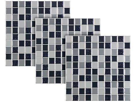 fliesenfolie schweiz infactory aufkleber selbstklebende 3d mosaik glitzer