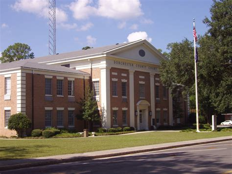 dorchester court house st george south carolina