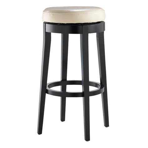 Home Decorators Collection Bar Stools | home decorators collection 30 in black swivel cushioned