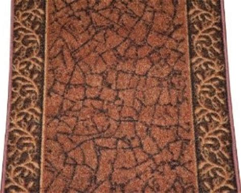 runner rug by the foot dean washable carpet rug runner garden path terra cotta sold by the foot modern rugs