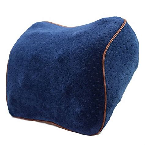 vitodeco velour neck pillow for travel best memory foam