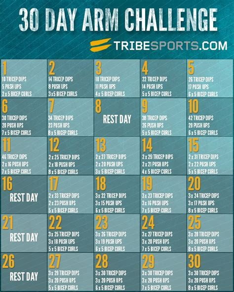 30 day arm exercise challenge 30 day arm challenge relationship