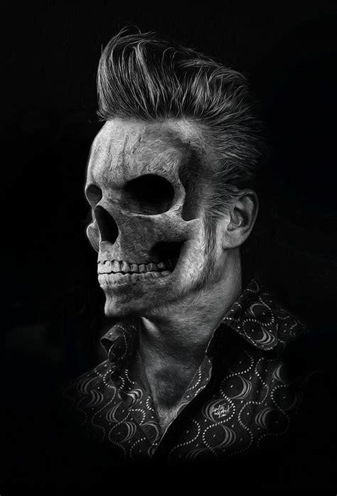 Elvis Skull | Skull, Skull art, Skull tattoos