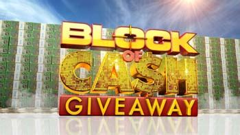 Cash Giveaway Today - today block of cash giveaway win 10000 australian competitions