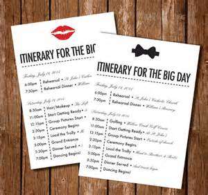 wedding itinerary template 40 free word pdf documents