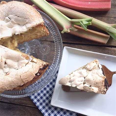 kreative kuchen rezepte rhabarber baiser kuchen glutenfrei glutenfreie rezepte