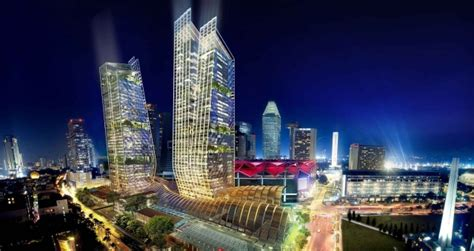Garden Home Floor Plans jw marriott and edition hotels announced for singapore