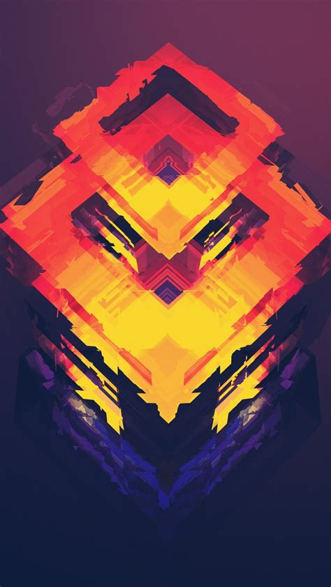wallpaper abstract polygon   iphone wallpaper