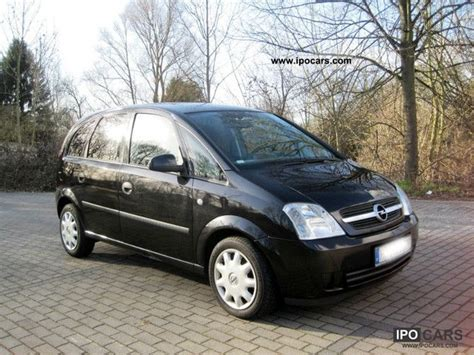 opel meriva 2004 2004 opel meriva 1 7 dti climate car photo and specs