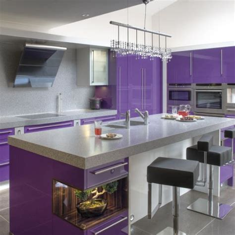 purple kitchen paint ideas quicua 37 best purple kitchens images on kitchens purple kitchen cabinets and contemporary