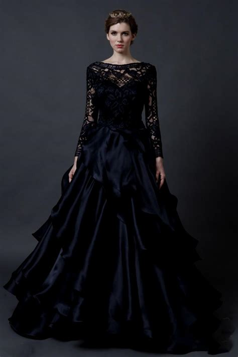 Black Dress For Wedding by 25 Astonishing Ideas Of Black Wedding Dresses The Best