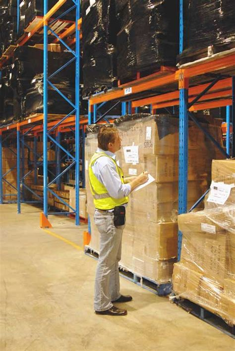 Rack Safety Inspection pallet racking audits on all brands pallet raacking
